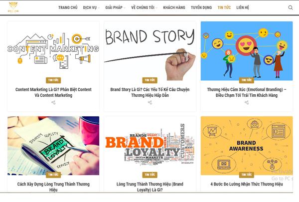 Các loại Content Marketing